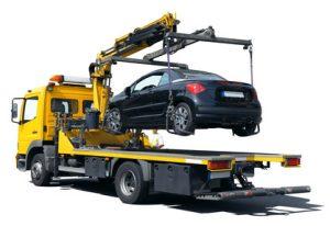 Abschleppwagen Getriebeschaden